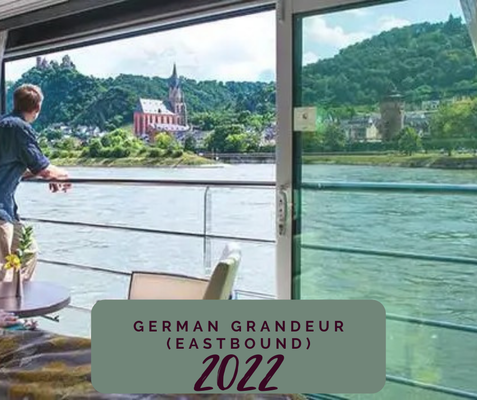 German Grandeur (Eastbound) May 2020 Itinerary Newsome Travel